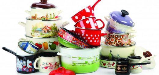 посуда, кастрюли