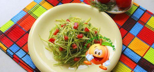 Салат из сырых кабачков по корейски фото рецепт