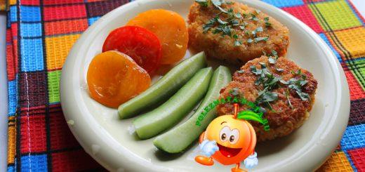 Диетические морковные котлеты без манки