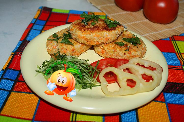 Вкусные диетические котлеты из цветной капусты