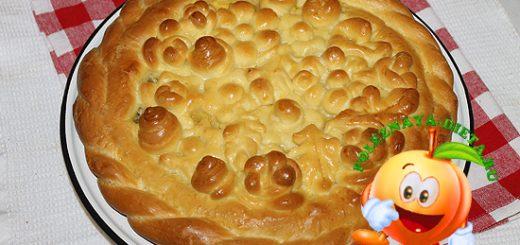 Вкусный мясной пирог в духовке. Рецепт с фото