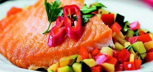 диетический лосось